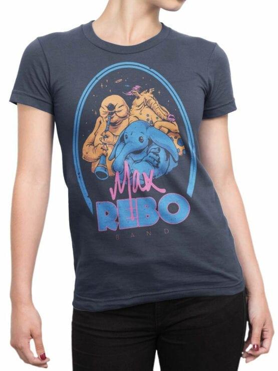 0812 Star Wars T Shirt Rebo Band Front Woman