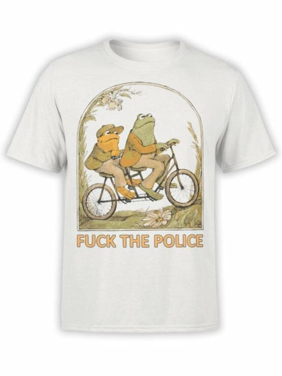 0814 Retro T Shirt Frogs Front