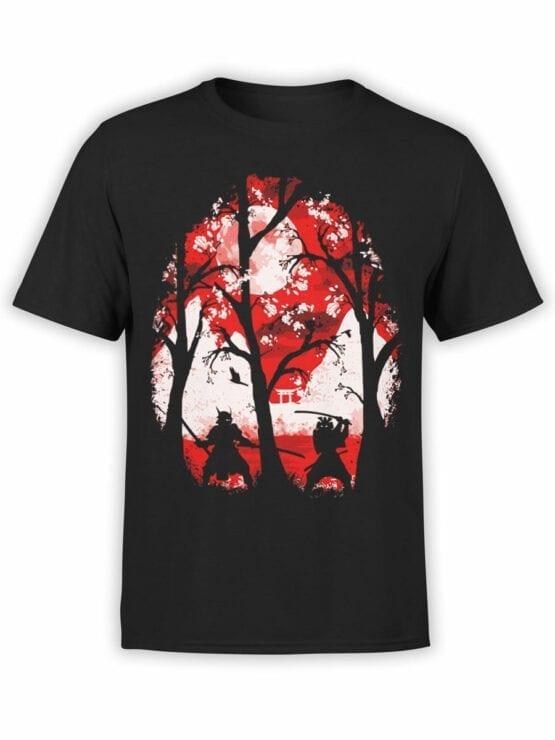 0816 Samurai Shirt Battle Front