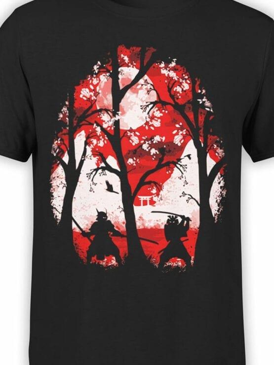 0816 Samurai Shirt Battle Front Color