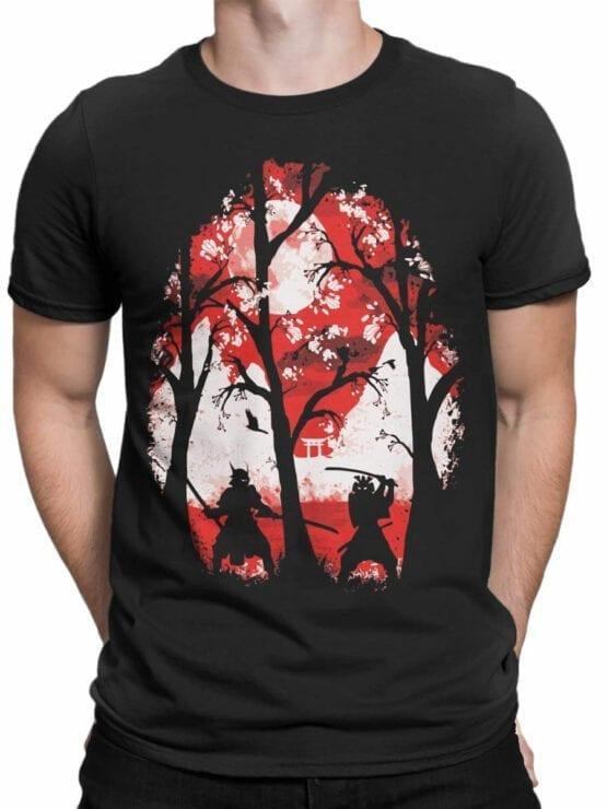 0816 Samurai Shirt Battle Front Man