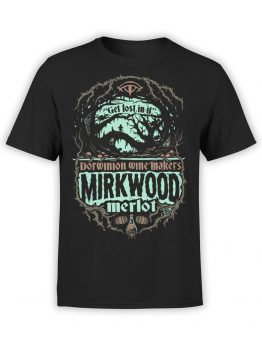 0817 Lord of the Rings Shirt Mirkwood Front