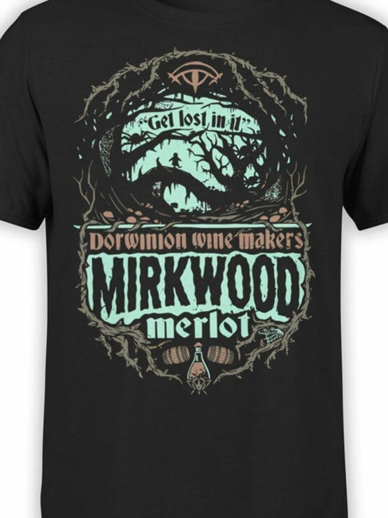 0817 Lord of the Rings Shirt Mirkwood Front Color