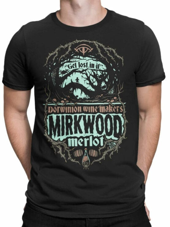 0817 Lord of the Rings Shirt Mirkwood Front Man