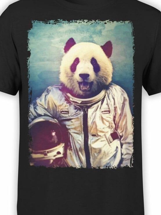 0819 Panda Shirt Astronaut Front Color