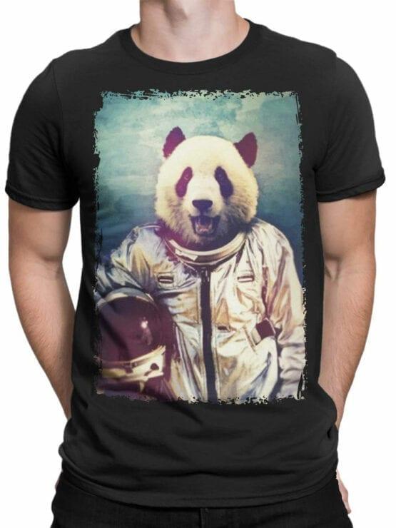 0819 Panda Shirt Astronaut Front Man