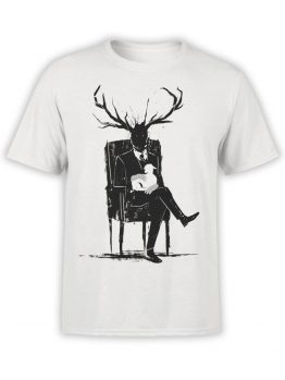 0820 Monster Shirt Hannibal Lecter Front