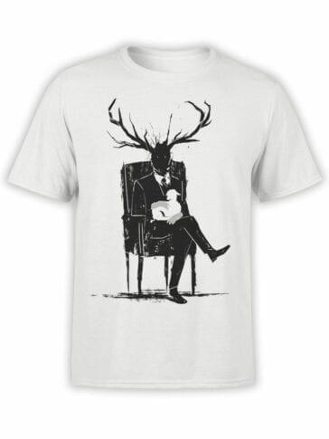 0820 Monster Shirt Hannibal Lecter Front