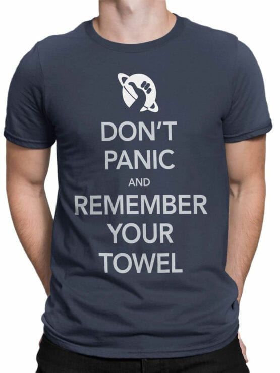 0824 The Hitchhikers Guide to the Galaxy Dont Panic Front Man