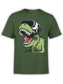 0825 Dinosaur Shirt VR T Rex Front