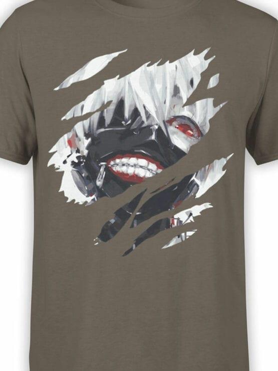 0826 Tokyo Ghoul Shirt Kaneki Ken Front Color