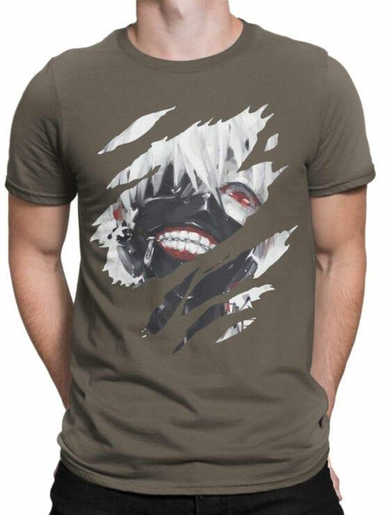 0826 Tokyo Ghoul Shirt Kaneki Ken Front Man