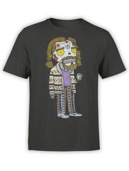 0829 Big Lebowski T Shirt Dead Dude Front