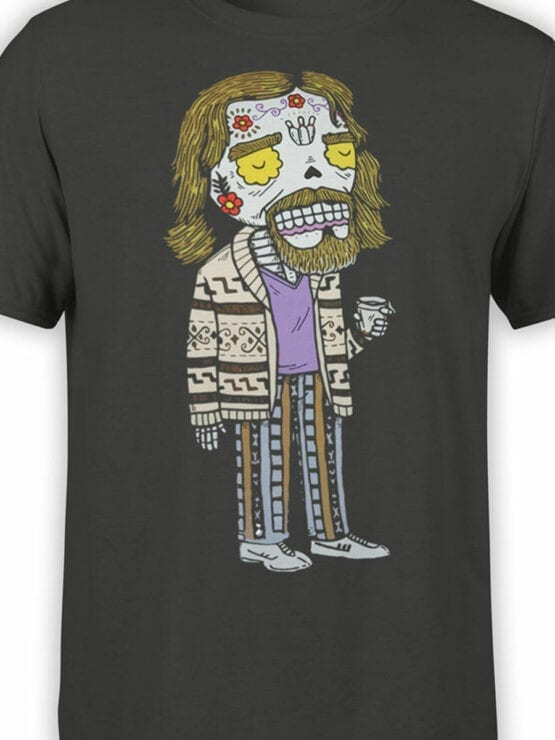 0829 Big Lebowski T Shirt Dead Dude Front Color