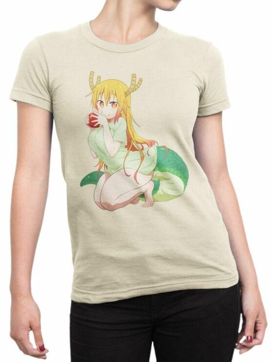 0832 Dragon Shirt Tohru Front Woman