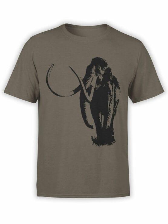 0833 Elephant Shirt Mammoth Front