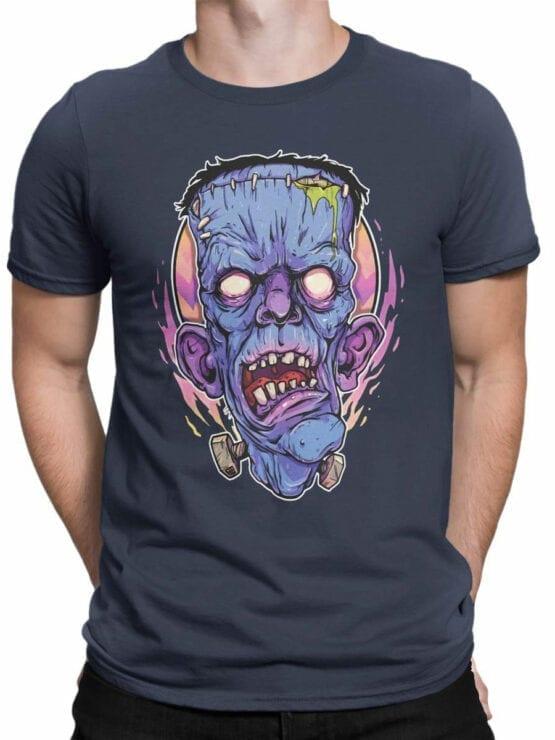 0835 Monster Shirt Frank Front Man