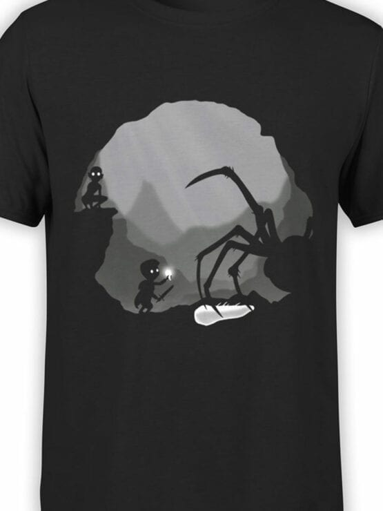 0836 The Lord of the Rings Shirt Shelob Front Color