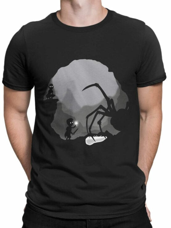 0836 The Lord of the Rings Shirt Shelob Front Man