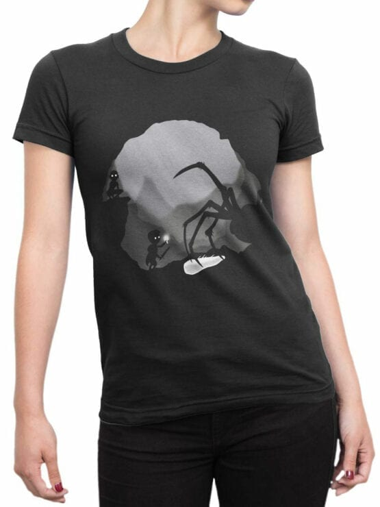 0836 The Lord of the Rings Shirt Shelob Front Woman