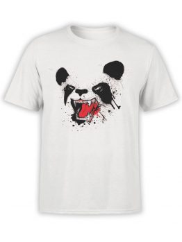 0839 Panda Shirt Distruction Front