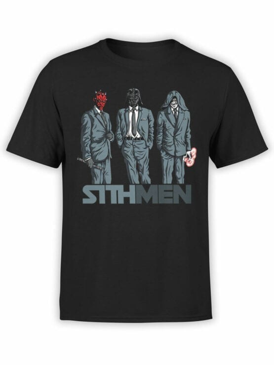 0840 Star Wars T Shirt Sithmen Front