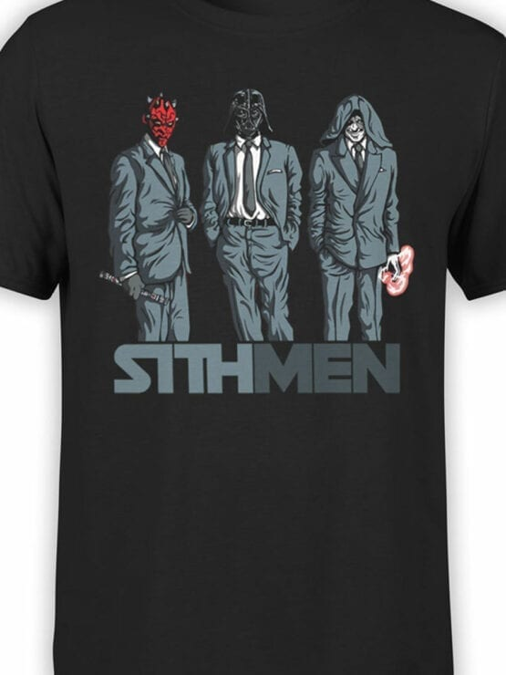 0840 Star Wars T Shirt Sithmen Front Color