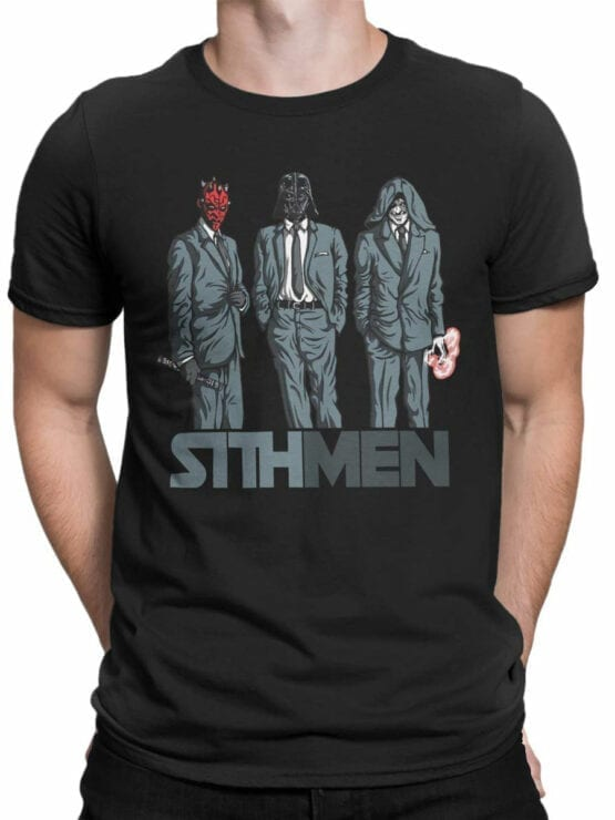 0840 Star Wars T Shirt Sithmen Front Man