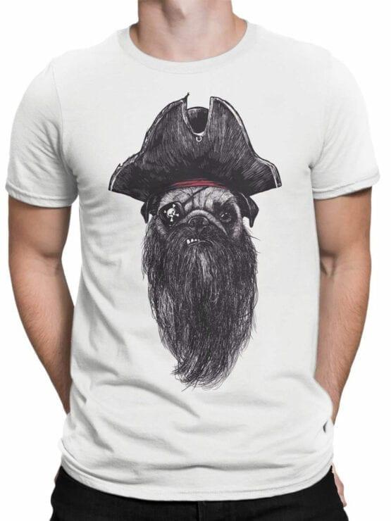 0842 Pirate Shirt Pugrate Front Man