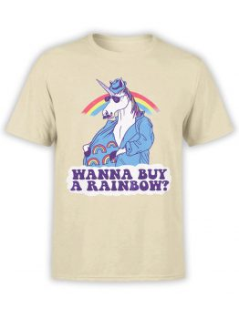 0843 Unicorn Shirt Buy a Rainbow Front