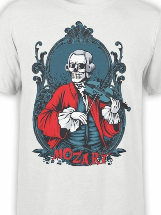 0844 Scary Shirt Mozart Front Color
