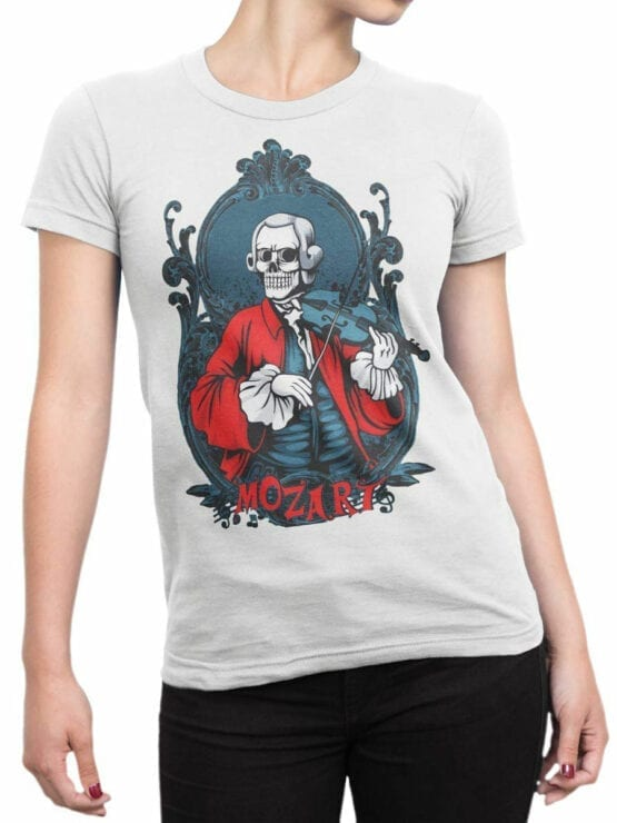 0844 Scary Shirt Mozart Front Woman