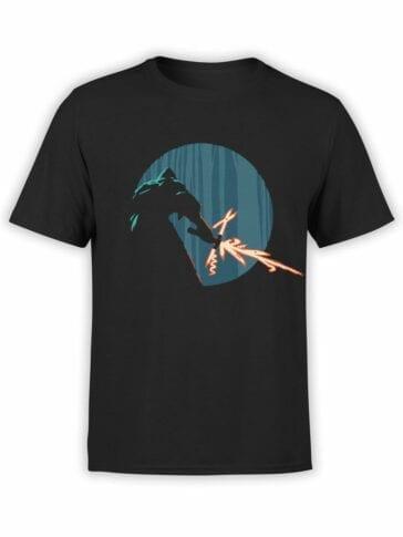 0845 Star Wars T Shirt Kylo Ren Swiss Knife Front