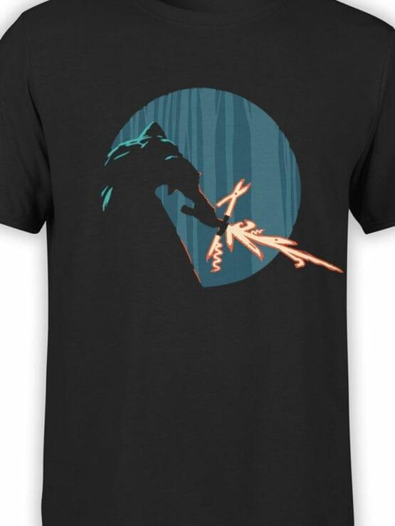 0845 Star Wars T Shirt Kylo Ren Swiss Knife Front Color
