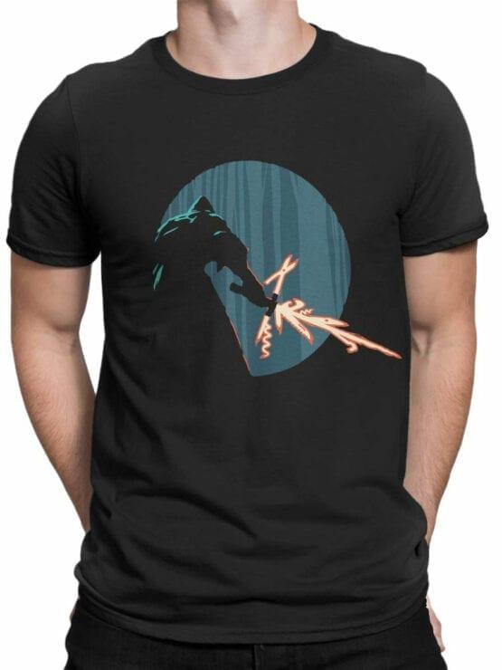 0845 Star Wars T Shirt Kylo Ren Swiss Knife Front Man