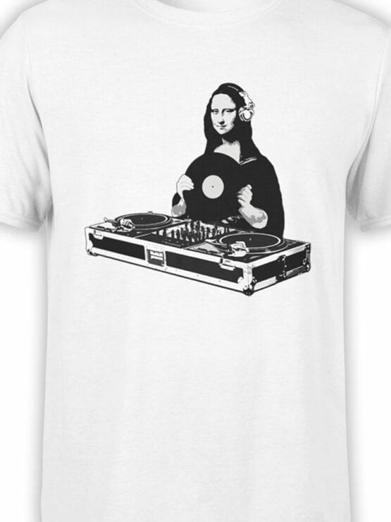 0847 Cool T Shirts DJ Lisa Front Color