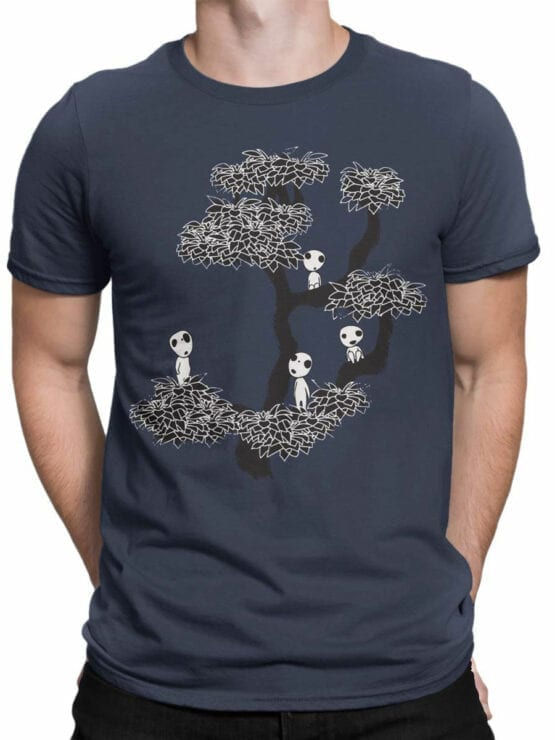 0849 Cool T Shirts Tree Front Man