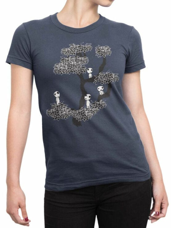 0849 Cool T Shirts Tree Front Woman
