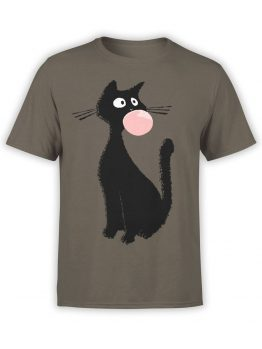 0851 Cat Shirts Gum Front