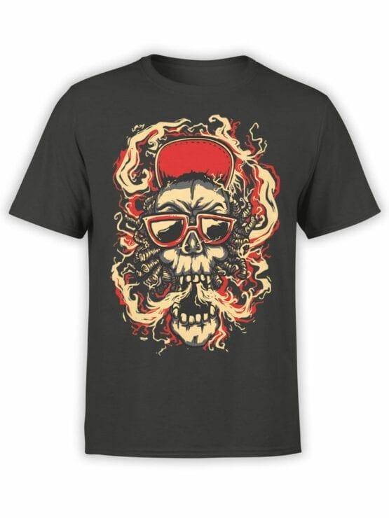0853 Cool T Shirts Smoke Front
