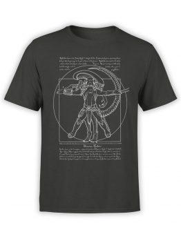 0854 Alien Shirt Vitruvian Hunters Front