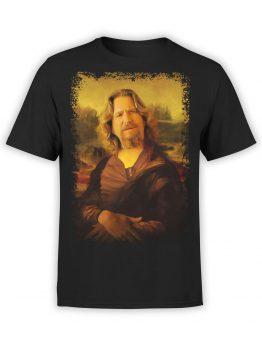 0855 Big Lebowski T Shirt Mona Dude Front