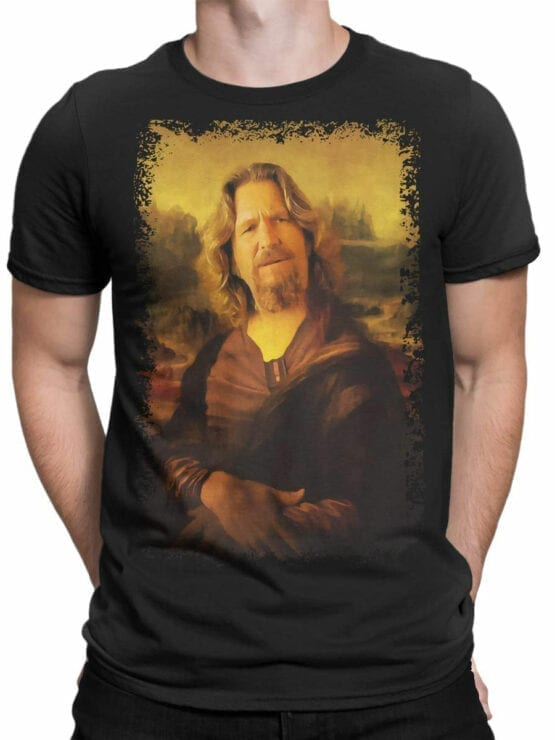 0855 Big Lebowski T Shirt Mona Dude Front Man
