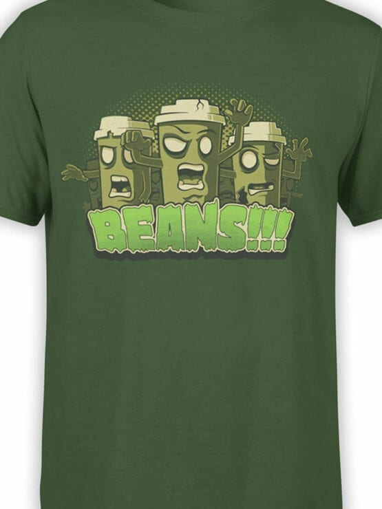 0857 Coffee Shirts Beans Front Color
