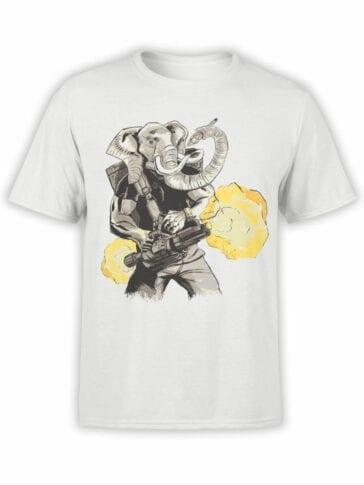 0858 Elephant Shirt Warrior Front