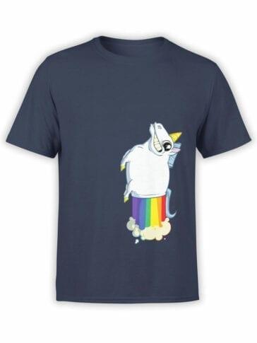 0859 Unicorn Shirt MegaFart Front