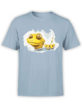 0863 Cool T Shirts Gecko Front