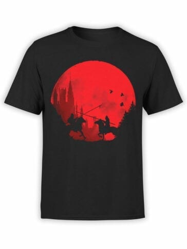 0864 Knight Shirt Sunset Front