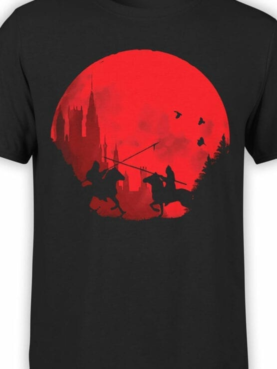 0864 Knight Shirt Sunset Front Color