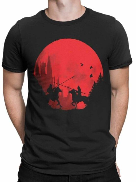 0864 Knight Shirt Sunset Front Man